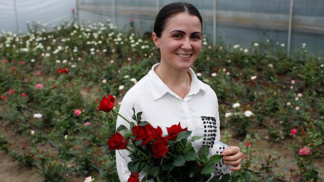 Las flores de Marí, un negocio floreciente para una joven empresaria © ILO/O