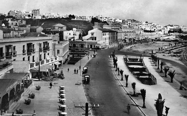 جانب آخر من شاطئ طنجة Tangier Beach