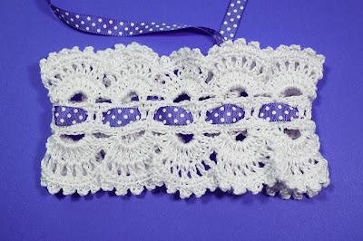 5 - Crocher Imagen Diadema de pelo realmente linda y fácil de hacer por Majovel Crochet.