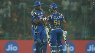 DD vs MI 45th Match IPL 2017 Highlights