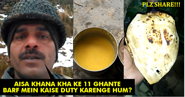 BSF Jawan Shares 3 Videos About Their Condition & Kind Of Food They Get! You'll Hate It!