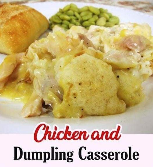 Chicken & Dumpling Casserole Recipe