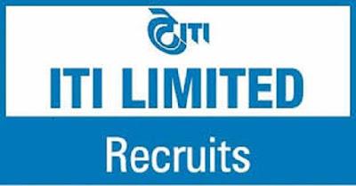 ITI Limited Recruitment 2017 for Executives at Karnataka, Bengaluru Last Date : 06-03-2017