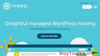 Flywheel Web hosting, managed WordPress hosting