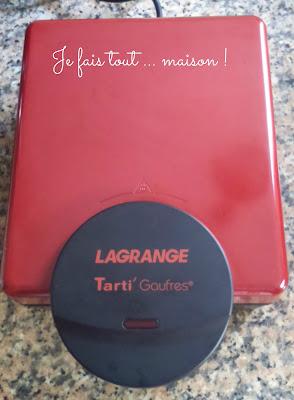 gaufrier Tarti' Gaufres Lagrange