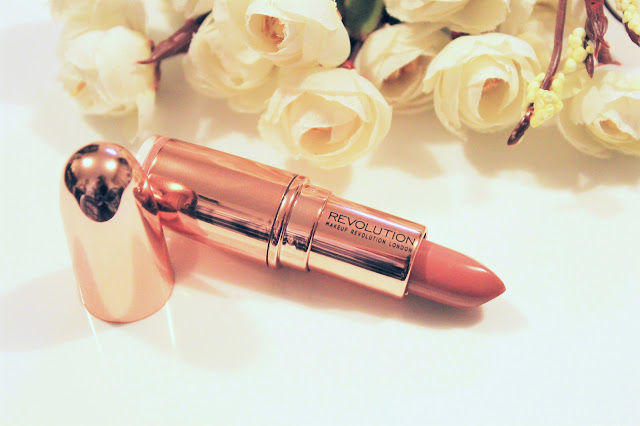 Make Up Revolution Rose Gold Chauffeur Lipstick