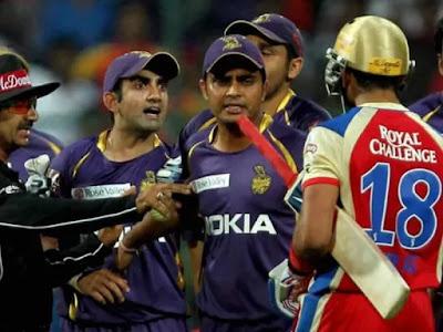 Virat Kohli and Gautam Gambhir fight controversy