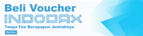 Beli Voucher Indodax Via Pulsa, Paypal dan Bank