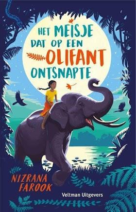 Het meisje dat op een olifant ontsnapte - Nizrana Farook