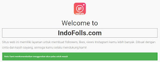 Bagi follower untuk setiap pengguna ig pastinya sangat penting. Nah berikut ini cara menambahkan banyak follower instagram dengan cepat di indofolls.com.