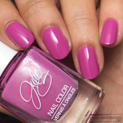 nail polish swatch of JulieG Rio de Janeiro