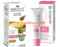 Logo Campioni omaggio Incarose BB Cream e Lisonatural Advance