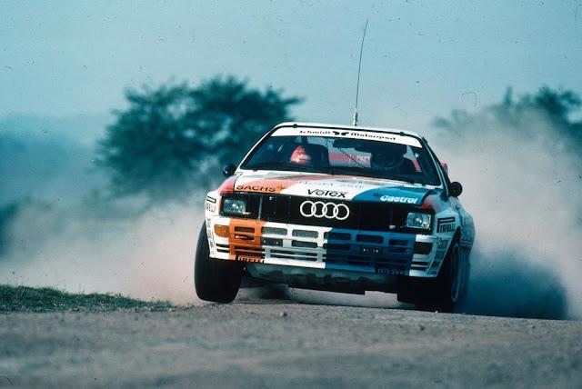 Harald Demuth Audi Quattro Rally Car