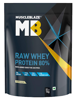 MuscleBlaze Raw Protein, whey protein reviews india
