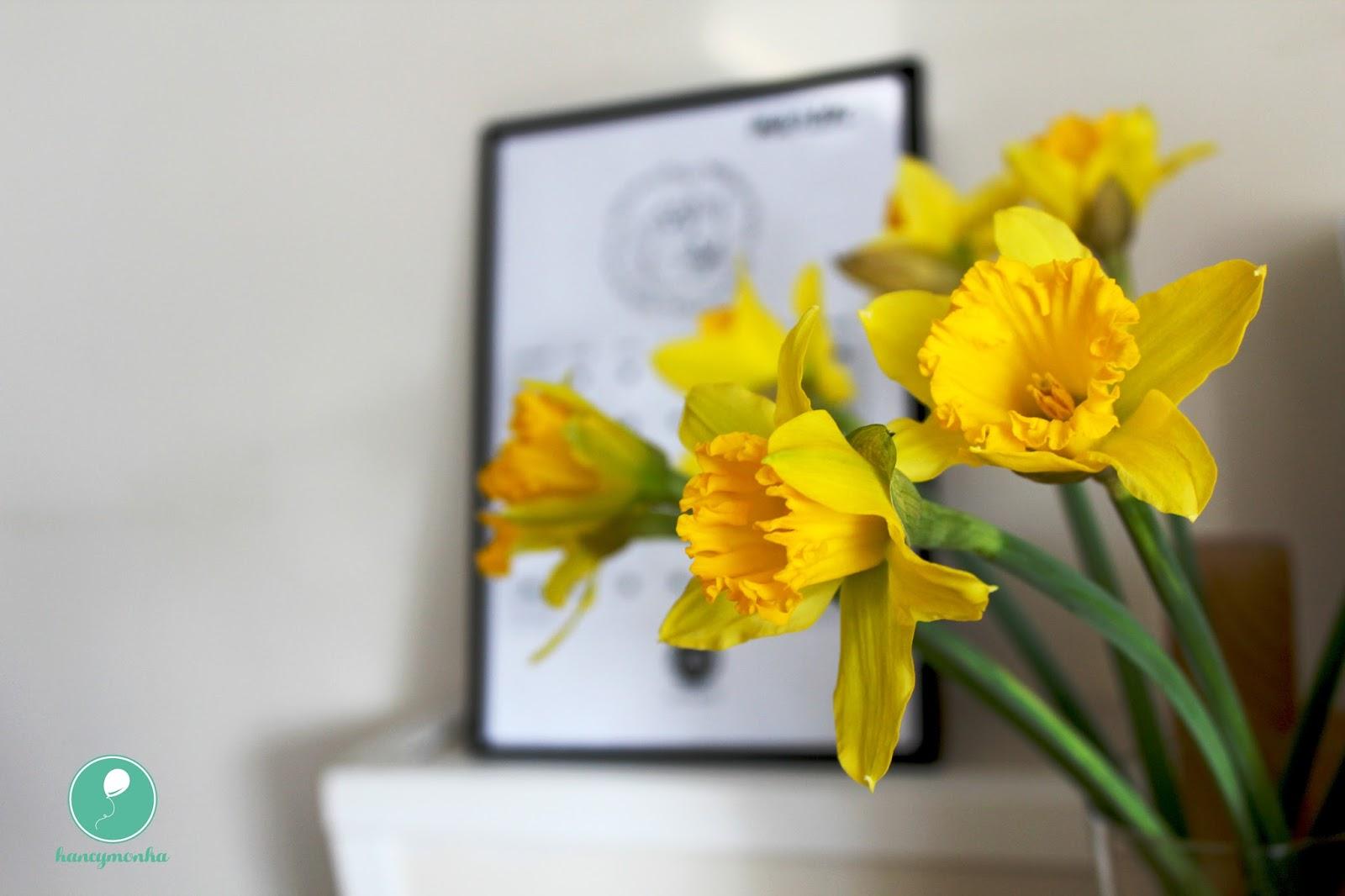 wiosna, hancymonka, kalendarz, do druku, do pobrania, calendar, marzec, march, freebie, for free