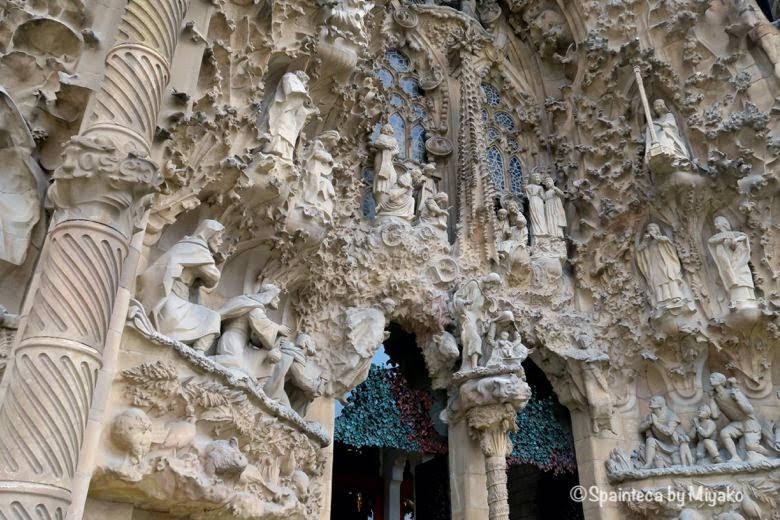 世界遺産サグラダ·ファミリア教会の天使の彫刻は外尾悦郎氏によるもの