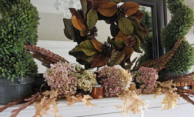 Thanksgiving Mantel- Itsy Bits And Pieces