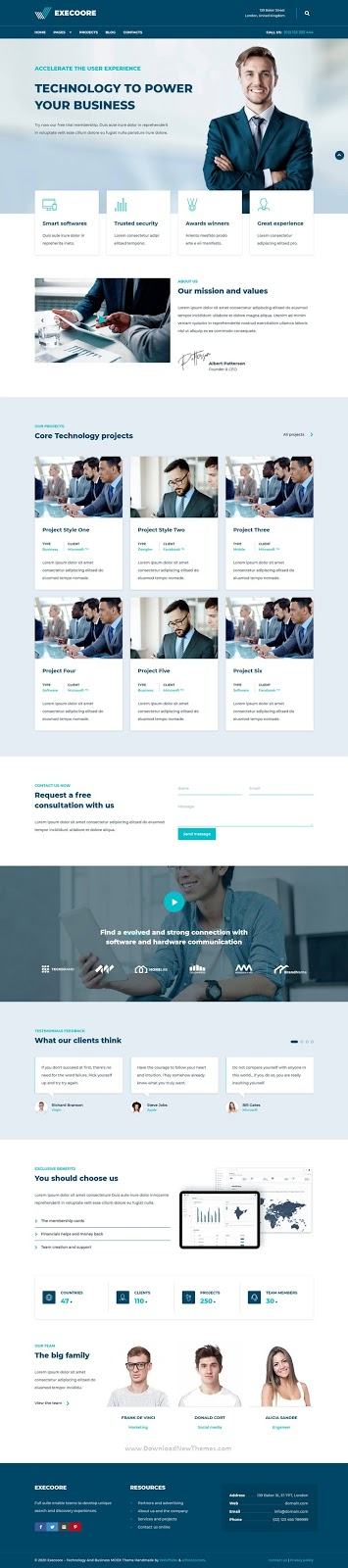 Best Technology And Business Theme