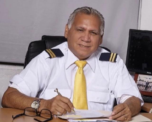 Director ejecutivo de Tripulantes VIP, Alfredo Hernández