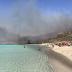 Φωτιά στην Ελαφόνησο - Εκκενώνεται το κάμπινγκ και ο οικισμός Παναγιά