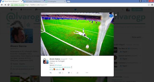 Portugal Campeón de la EUROCOPA 2016 - Francia 2016 - París - Cristiano Ronaldo - Gol de Eder - Francia 0-1 Portugal - Telecinco - el troblogdita - ÁlvaroGP - Álvaro García