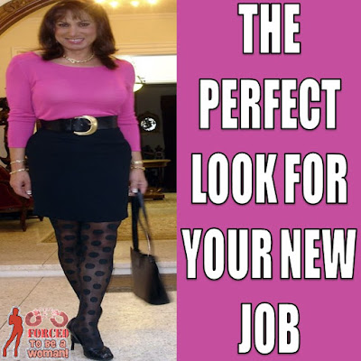The perfect look Sissy TG Caption - TG Captions and more - Crossdressing and Sissy Tales and Captioned images