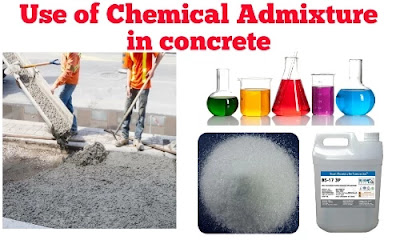 use of chemical admixture in concrete