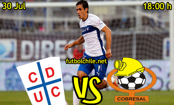ver stream youtube movil android ios iphone table ipad windows mac linux resultado en vivo, online: Universidad Católica vs Cobresal