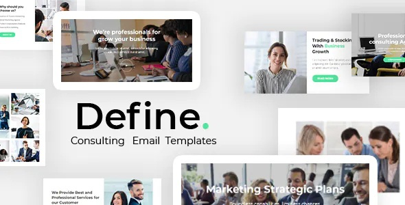 Best Business And Financial Consulting Email Template