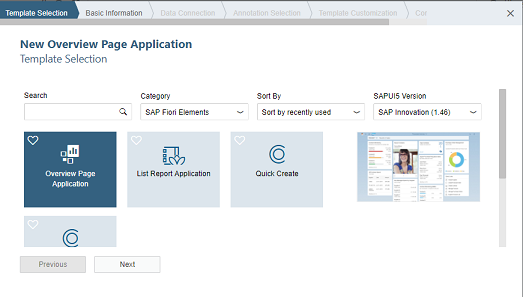 How to Create your first SAP Fiori Overview Page Application