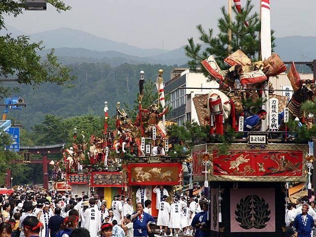 Tsuruga Matsuri (Mikoshi Parade), Tsuruga City, Fukui Pref.
