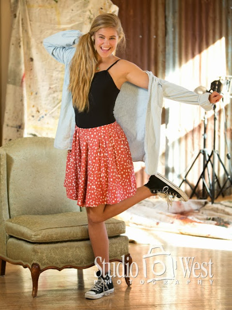 senior pictures - studio portraits - senior portrait - atascadero - studio 101 west photography