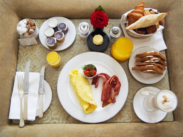 Breakfast at The Connaught