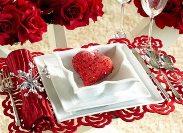 فكره و صوره لطاوله عشاءك الرومانسي