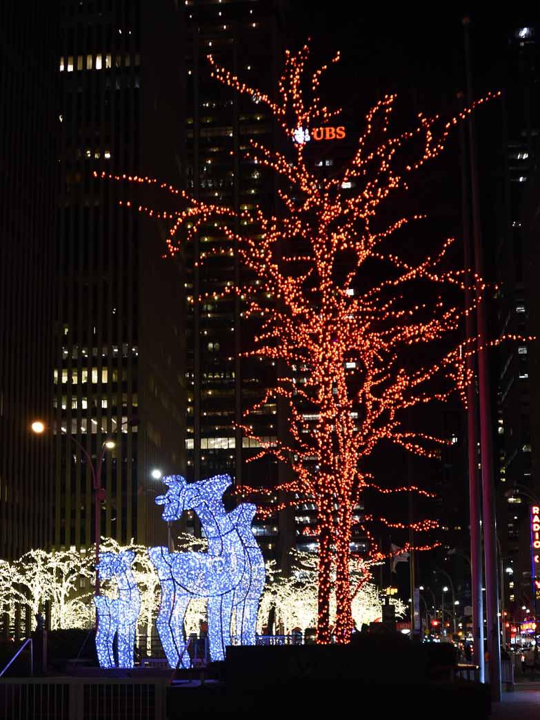 New York City Light Display