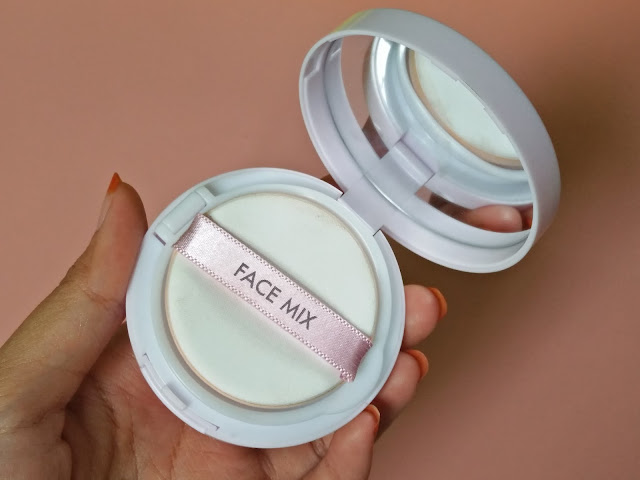 [REVIEW] Tony Moly Face Mix Primer Color Cushion Lavender