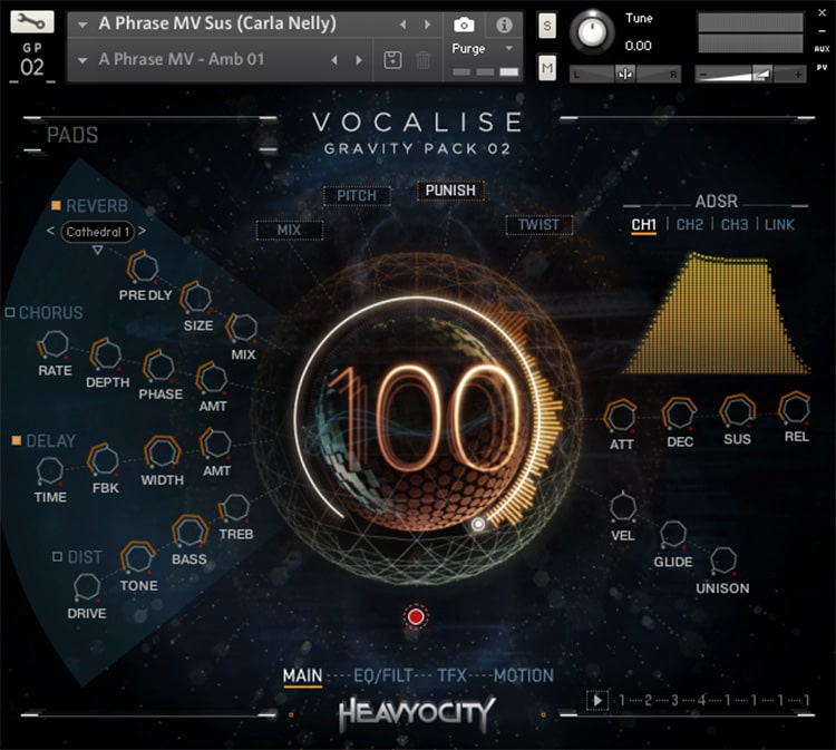 Interface Heavyocity - Vocalise: Gravity Pack 2 (KONTAKT)