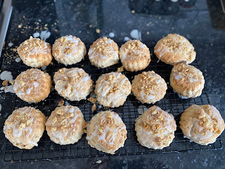 Maple and Walnut scones