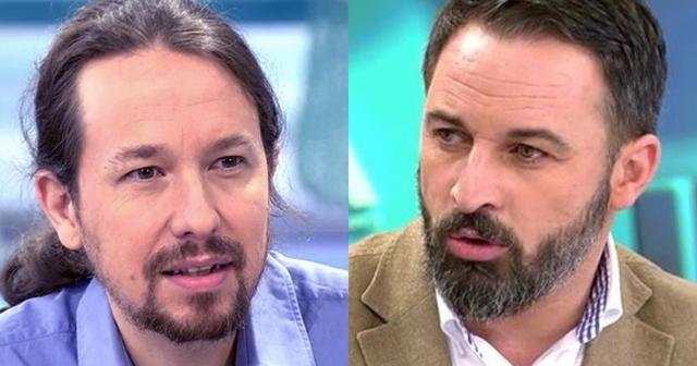 Lección de tolerancia y respeto de Pablo Iglesias a Santiago Abascal por el pin parental