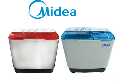 Mesin cuci 2 tabung Midea MTA77-P1302S