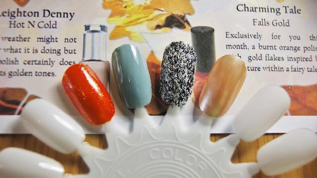 Coloristiq October Box Nail Polishes