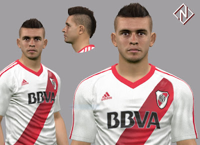 PES 2017 Faces Rafael Santos Borré by Nahue