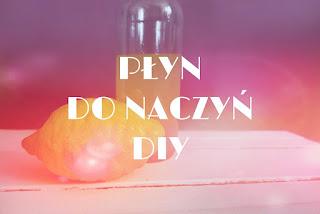 Cytrynowy płyn do mycia naczyń DIY