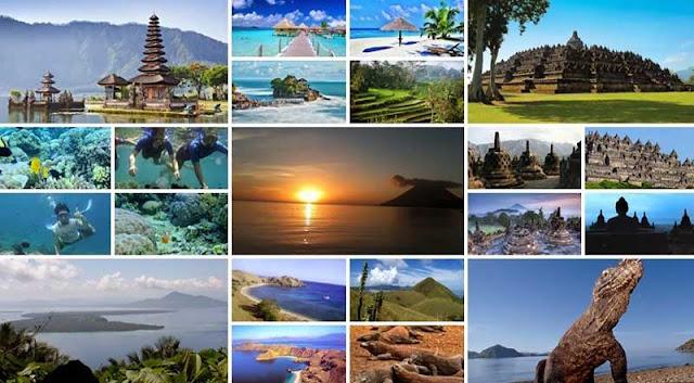 Ragam Tempat Wisata di Indonesia yang Harus Dikunjungi