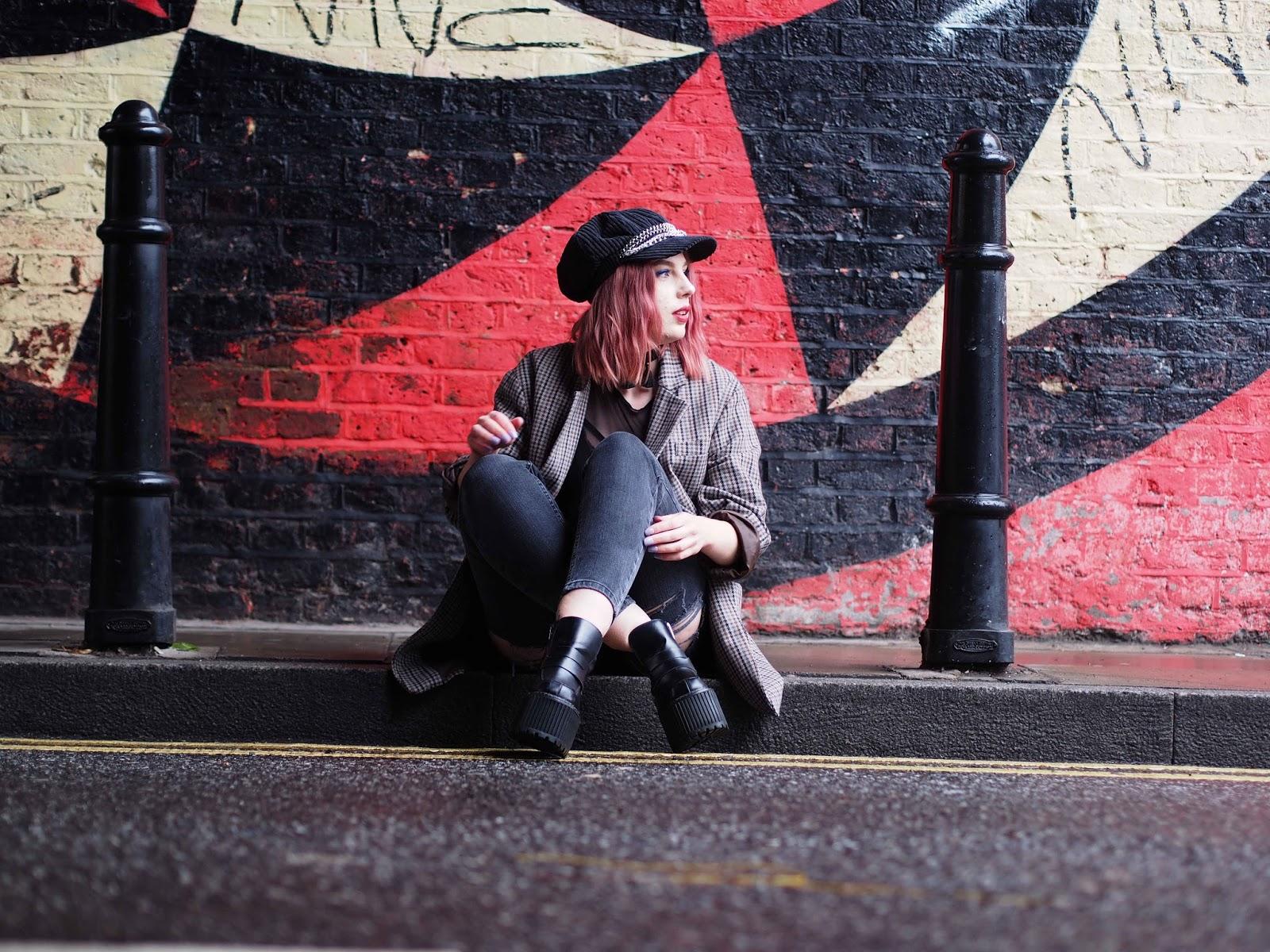 london street style, uk fashion blogger, grunge outfit ideas, grunge outfits, grunge blogger, uk fashion blogger, street style blogger, london fashion blogger