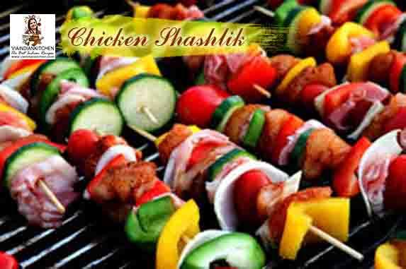 viaindiankitchen - Chicken Shashlik