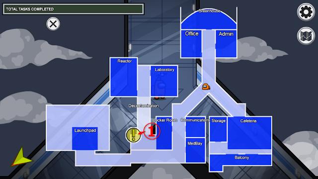 Locker Room(ロッカールーム)のタスクマップ説明画像