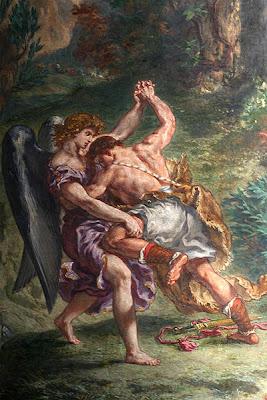 יעקב נאבק במלאך -דלקרואה
