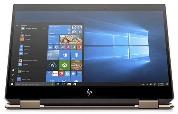 HP Spectre x360 13-ap0003ns: portátil convertible de 13.3'' con procesador Core i7 y Windows 10 Home