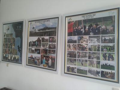 Kumpulan foto berisi kegiatan pembelajaran siswa di YIS